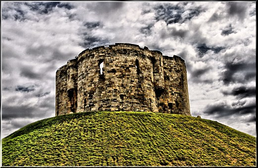 Cliffords, Tower, York, England, Historic, Landmark
