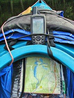 Gps, Map, Kayak, Navigation, Tourism, Rafting