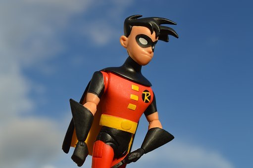 Robin, Batman, Hero, Superhero, Costume, Mask, Toy