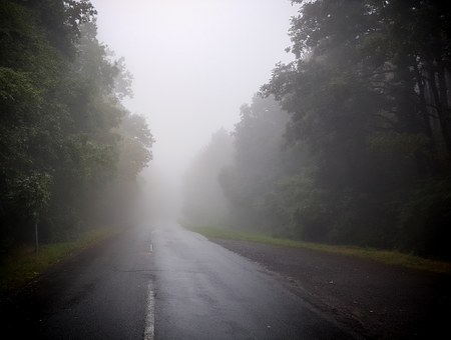 Fog, Mountain, Mountain Road, Cloud, Mountains, Mecsek