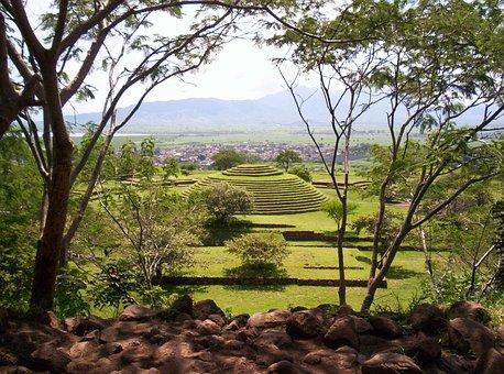 Guachimontones, Jalisco, Mexico, Archaeology, Pyramid