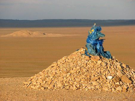 Ovoo, Word, The Mound, Buddhism, Religion, Mongolia
