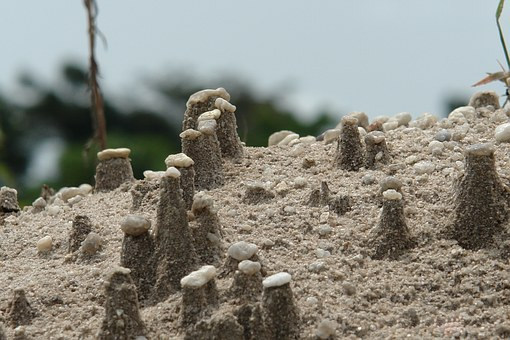 Stone, Mound, Gravel, Sand, Quartz, Rain, Gravier