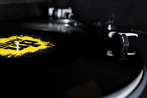 Plate, Turntable, Vinyl, Customer, Pickup, Needle