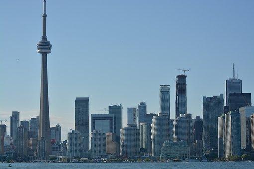 Toronto, Skyline, Buildings, Canada, Ontario, City
