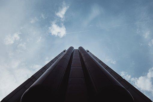 Gotham, Batman, Building, Architecture, Perspective