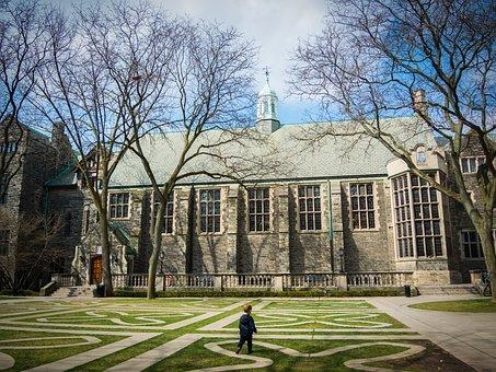 Trinity Quad, Quadrangle, School, University, College