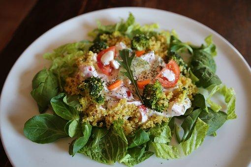 Salad, Dish, Food, Gastronomy, Kitchen, Foodie, Recipe