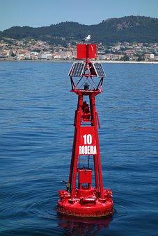 Buoy, Signaling, Ria, Sea