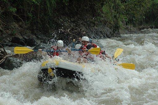 River Rafting, White Water River Rafting, River, Water