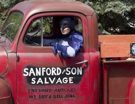 Batman, Sanford Son, Junk, Truck, Classic Tv, Sitcom