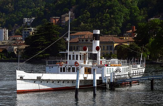 Ship, Paddle Steamer, Steamer, Steamboat