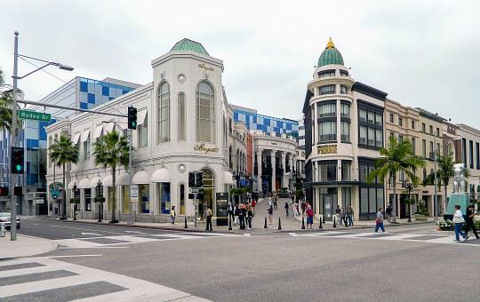 Rodeo, Rodeo Drive, Beverly, Shopping, California