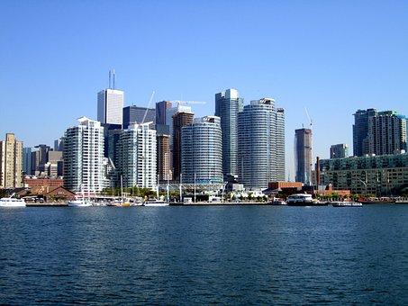 Toronto, Skyline, City