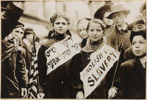 Child Labour, Children, Slavery, Demonstration, Protest