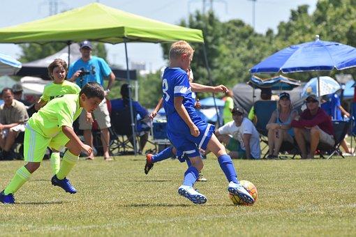 Soccer, Ball, Dribble, Football, Game, Sport