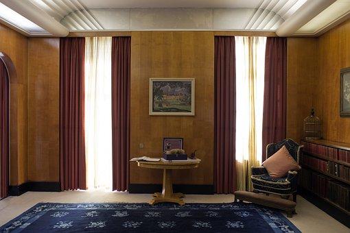 Eltham Palace, South London, Sitting Room
