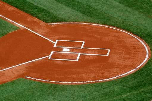 Home Plate, Baseball, Sport, Home, Plate, Game, Field