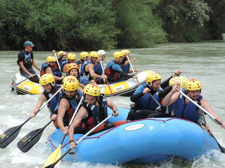 Rafting, River, Nature, Sport, Adventure