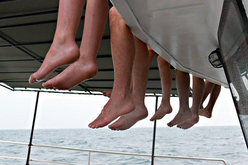 Toes, Whale Watching, Boat, Sri Lanka, Indian Ocean