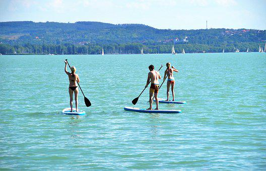 Stand Up Paddle, Sup, Water Sport, Modern, Paddling