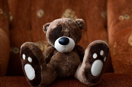 Teddy Bear, The Mascot, Plush Mascot, Cuddly, Misiek