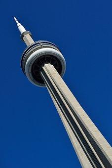 Toronto, Ontario, Canada, Cn Tower, Tower, Canadian