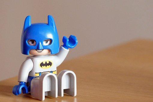 Batman, Toy, Happy, Bat, Child, Childhood, Costume