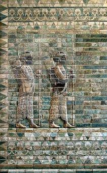 Frieze, Facade, Archers, Louvre, Wall Art