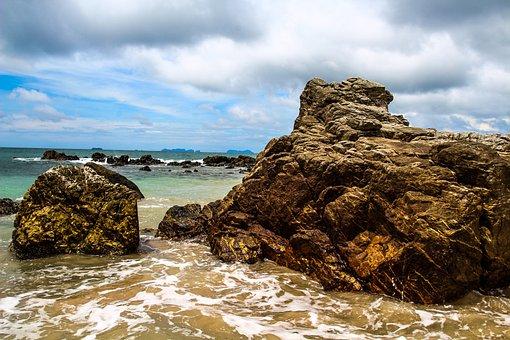Koh Ianta, Asia, Thailand, Island, Beach, Coast, Sea