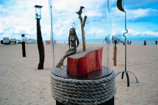 Sea, The Baltic Sea, Beach, Nature, Art, Design