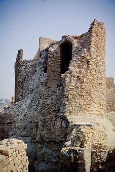 Ruin, Castle, Dar-el-bahar, Safi, Morocco, Historically