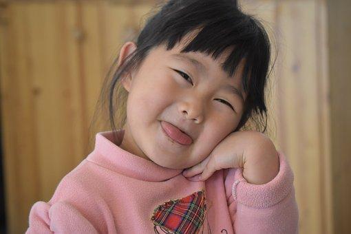 Girl, Asian, Women's, Baby, Children's, Child, Happy