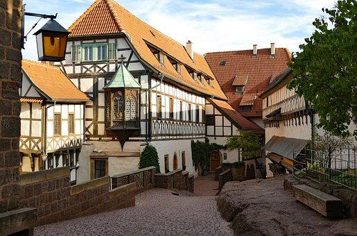Wartburg Castle, Reformation, Courtyard, World Heritage