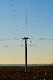 Landline, Overhead Line, Current, Energy, Electricity