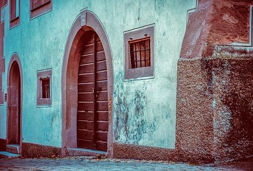 Window, Doors, House Facade, Home Front, Facade