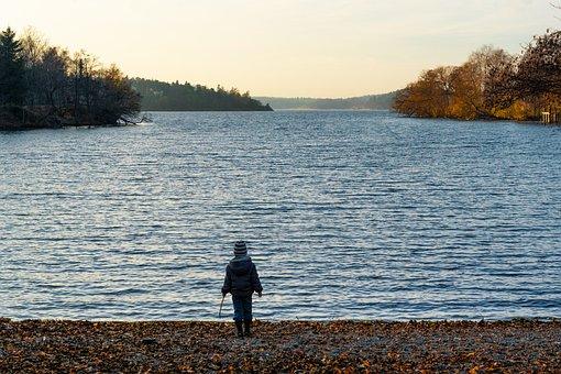 Boy, Alone, Future, Walking, Forward, Strong, Looking