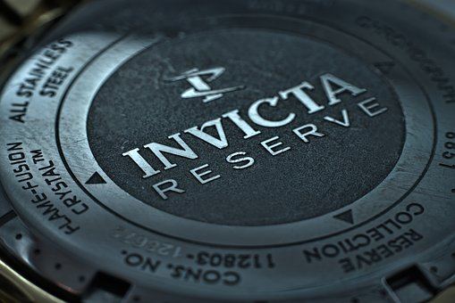 Watch, Invicta Watch, Metal