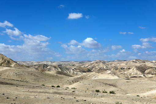 Desert, Sky, Landscape, Nature, Sand, Arid, Clouds
