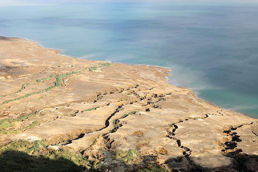 Dead Sea, Stone, Desert, Landscape, Nature, Rock, Dry