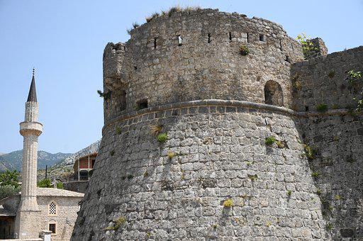 Fortress, The Ruins Of The, Old Bar, Montenegro, Tower