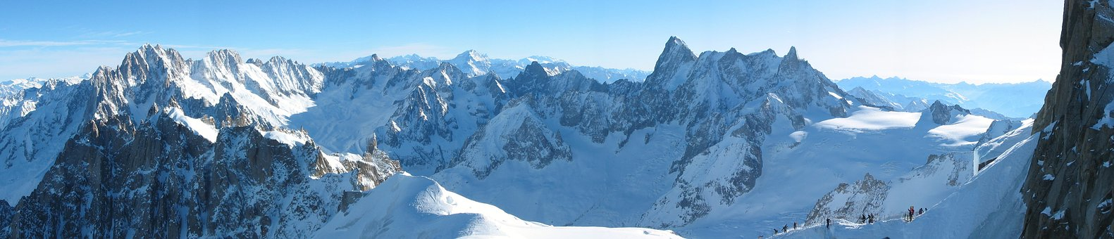 The Alps, Mountains, Winter, Rocks, View, Landscape