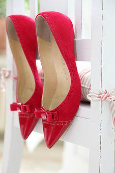 Red Pumps, Shopping, Red Boots