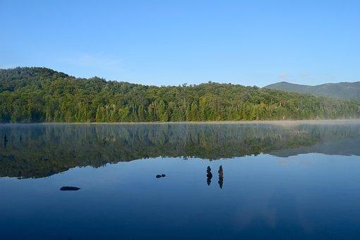 Lake, Summer, Landscape, Nature, Water, Reflection