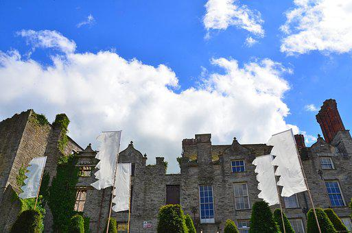 Hay Castle, Ruin, Derelict, Building, Old, Architecture