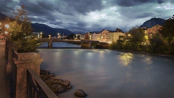 Bridges, Rivers, Currents, Sky
