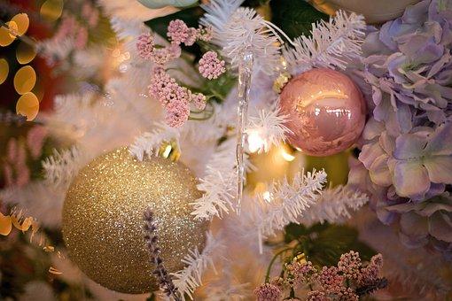Christmas Tree, Decoration, December, Atmosphere