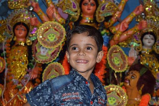 Smile, Children, Child, Teeth West Bengal, India