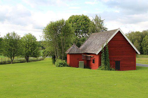 Children, Barn, Country, Farm, Nature, Bed, Pasture