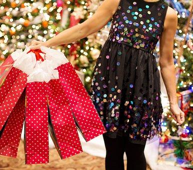 Christmas Shopping, Christmas Presents, Christmas